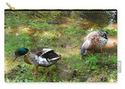 Pair Of Mallard Duck 6 Carry-all Pouch