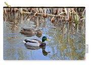 Pair Of Mallard Ducks Carry-all Pouch