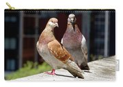 Pair Of Pigeons Carry-all Pouch