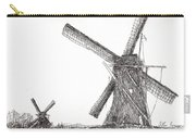 Pair Of Windmills 2016 Carry-all Pouch
