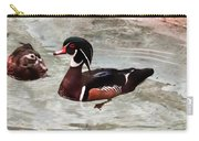 Pair Of Wood Ducks Carry-all Pouch