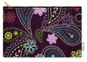 Paisley Abstract Design Carry-all Pouch