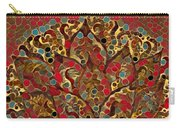 Paisley Fan In Dots  Carry-all Pouch