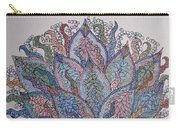 Paisley Fan Carry-all Pouch
