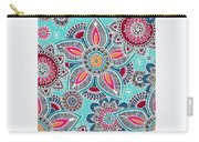 Paisley Petals Carry-all Pouch