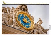 Palace Of Versaille Exterior Clock Carry-all Pouch