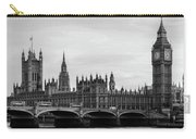 Palace Of Westminster And Elizabeth Tower Carry-all Pouch