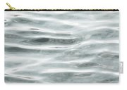 Pale Aqua Water Ripples Carry-all Pouch