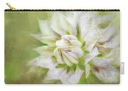 Pale Pink Clematis Carry-all Pouch