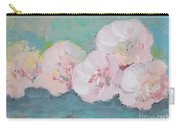 Pale Pink Peonies Carry-all Pouch