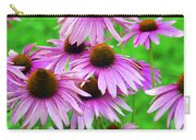 Pale Purple Coneflowers Carry-all Pouch