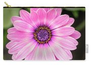 Pale Purple Flower Carry-all Pouch