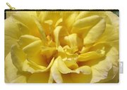 Pale Yellow Rose Carry-all Pouch