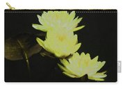Pale Yellow Water Lilies Carry-all Pouch