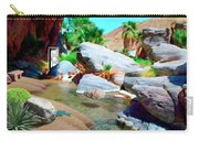 Palm Canyon Park Carry-all Pouch