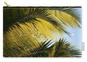 Palm Detail Carry-all Pouch