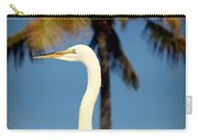 Palm Egret Carry-all Pouch