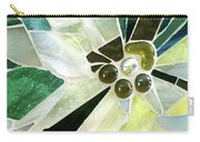 Palm Flower Mosaic Carry-all Pouch