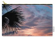 Palm Frond At Dusk Carry-all Pouch