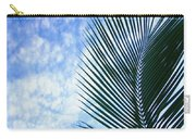 Palm Fronds And Clouds Carry-all Pouch