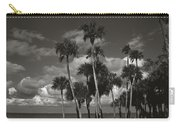 Palm Group In Florida Bw Carry-all Pouch