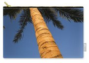 Palm In Blue Sky Carry-all Pouch