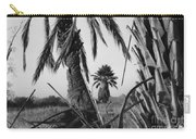Palm In View Bw Horizontal Carry-all Pouch