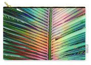 Palm Leaf Art Carry-all Pouch