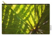 Palm Leaves And Morning Light Carry-all Pouch