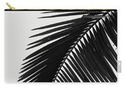Palm Leaves Bw Carry-all Pouch