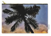 Palm On The Beach Carry-all Pouch