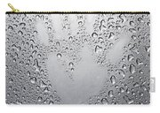 Palm Print On Wet Metal Surface Carry-all Pouch