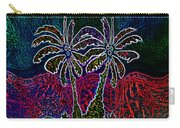 Palm Tree Abstraction Carry-all Pouch