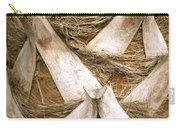 Palm Tree Bark Carry-all Pouch