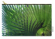 Palm Tree, Big Leafs Carry-all Pouch