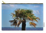 Palm Tree By The Lake Carry-all Pouch