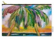 Palm Tree Color Times Two Carry-all Pouch