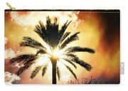 Palm Tree In The Sun #2 Carry-all Pouch