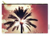 Palm Tree In The Sun Carry-all Pouch