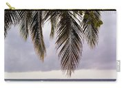 Palm Tree Leaves At The Beach Carry-all Pouch