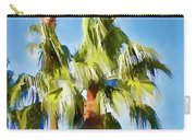 Palm Tree Needs A Chiropractor Painterly I Carry-all Pouch