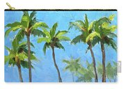Palm Tree Plein Air Painting Carry-all Pouch