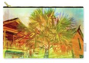 Palm Tree Portrait Carry-all Pouch