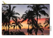 Palm Tree Silhouettes Carry-all Pouch