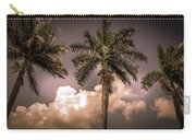 Palm Trees Against Beautiful Sky Carry-all Pouch