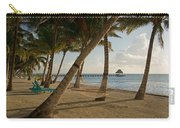 Palm Trees And Hammock On San Pedro Carry-all Pouch