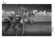 Palm Trees In Black And White At Laguna Beach Carry-all Pouch
