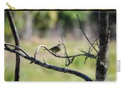 Palm Warbler Greetings Carry-all Pouch