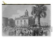 Palmetto Tree And Old Custom House Carry-all Pouch