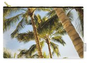 Palms Against Blue Sky Carry-all Pouch